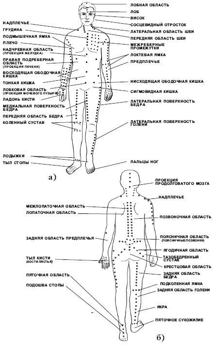 карта триггерных точек Херсон