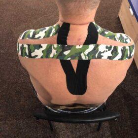 тейпирование мышц спины 1фото
