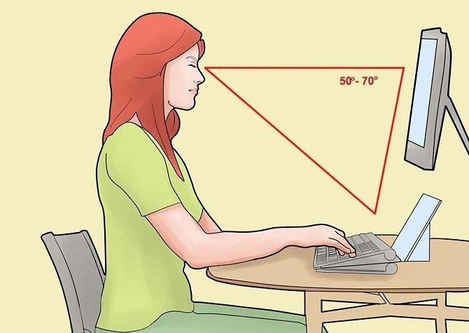 Правильно сидим за компьютером...