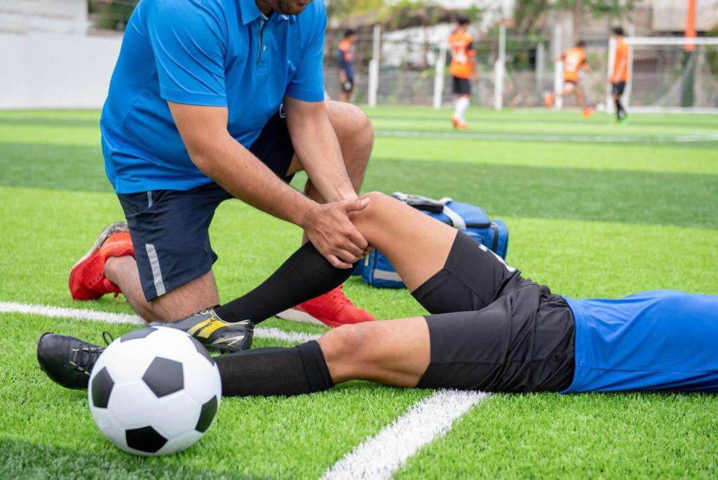 спортивные травмы футбол